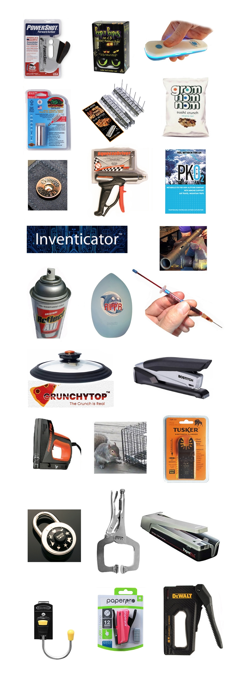 Invention City inventions