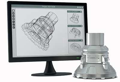 Prototyping: 3D CAD Image to 3D Printing Part